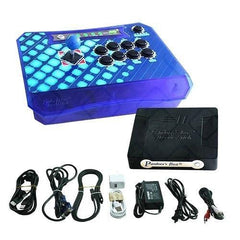 Wireless Arcade Stick Home Console with 815 games (One player) Blue 2