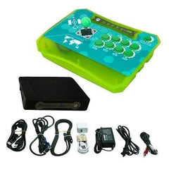 Wireless Arcade Stick Home Console with 815 games (One player) Green
