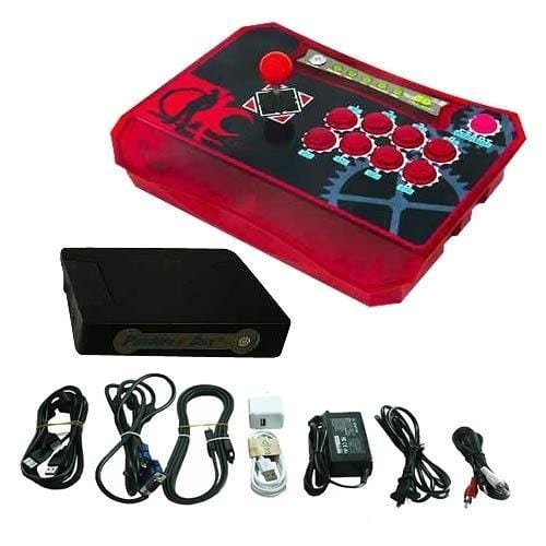 Wireless Arcade Stick Home Console with 815 games (One player) Red