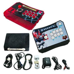 Wireless Arcade Stick Home Console with 815 Games (Two player)Red & Black