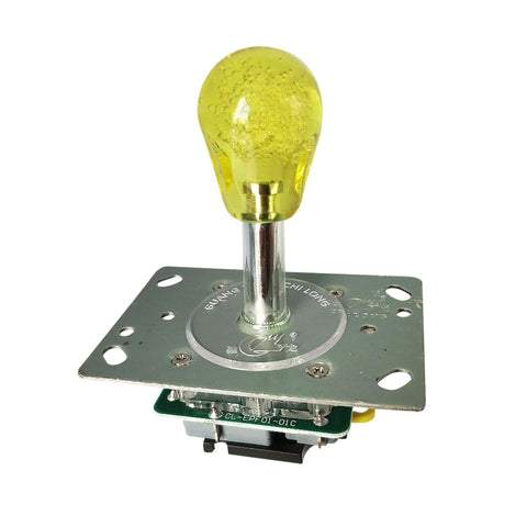Yellow Illuminated Arcade Joystick Deluxe version
