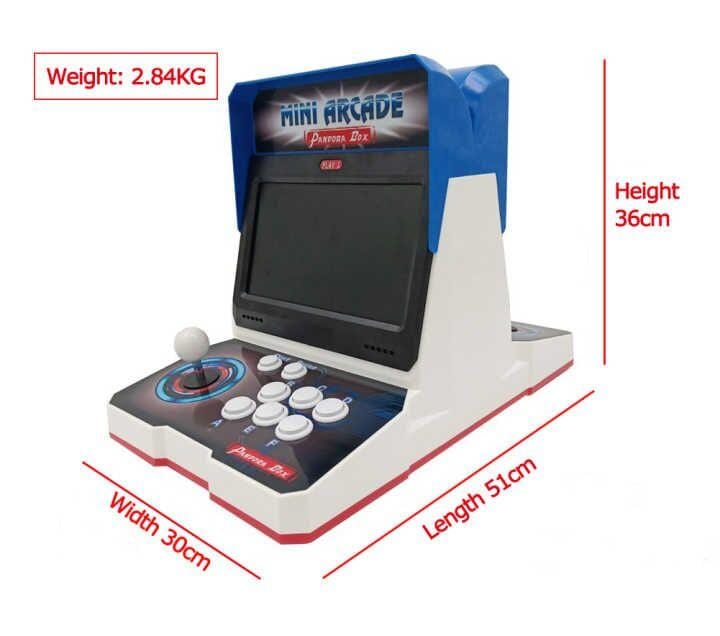 Pandora Box 6 mini arcade plastic bartop 2 player