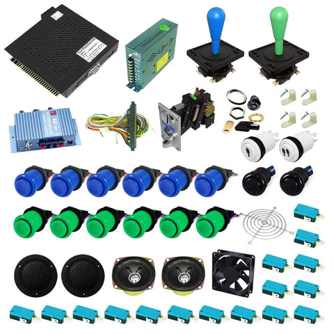 Ultimate 750 in 1 DIY Arcade Kit-Happ Joystick