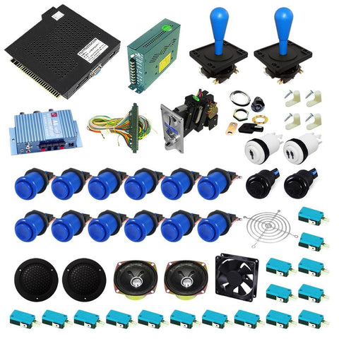 Ultimate 138 in 1 DIY Arcade Kit-Happ Style Joystick