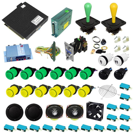 Ultimate 750 in 1 DIY Arcade Kit-Happ Joystick - DIY Arcade Australia