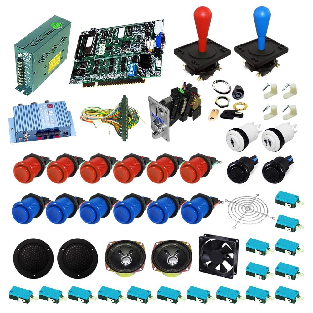 Ultimate 19 in 1 DIY Arcade Kits-Happ Joystick