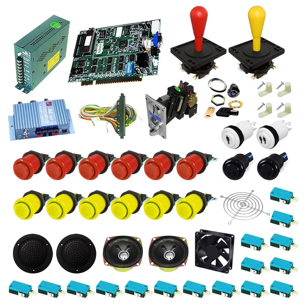 Ultimate 19 in 1 DIY Arcade Kits-Happ Joystick - DIY Arcade Australia