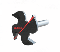 Slot Cutter for Arcade T-moulding, 2.5mm Cutting Length