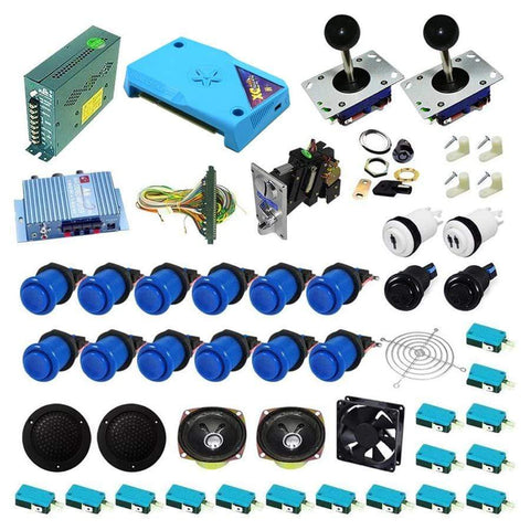 Ultimate 3000 in 1 Kit - Blue/Blue - DIY Arcade Australia