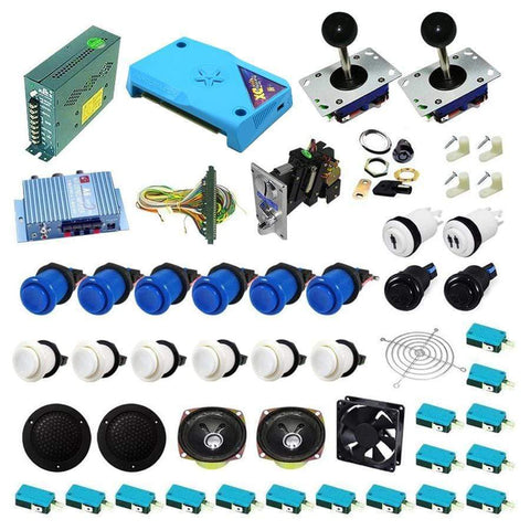 Ultimate 3000 in 1 Kit - Blue/White - DIY Arcade Australia