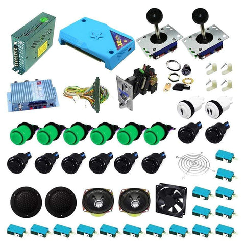 Ultimate 3000 in 1 Kit - Green/Black - DIY Arcade Australia