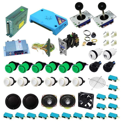 Ultimate 3000 in 1 Kit - Green/White - DIY Arcade Australia