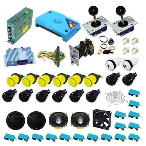 Ultimate 3000 in 1 Kit - Yellow/Black - DIY Arcade Australia