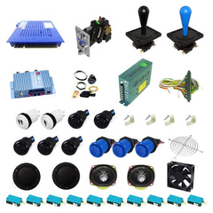 Ultimate 412 in 1 DIY Arcade Kit-Happ Joystick