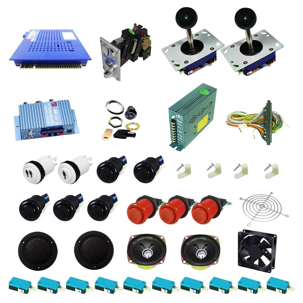 Ultimate 412 in 1 DIY Arcade Kit - DIY Arcade Australia