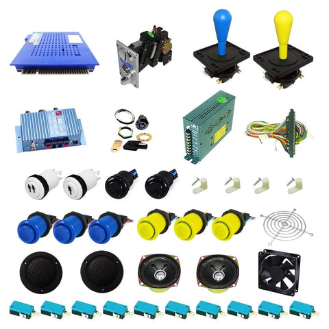 Ultimate 412 in 1 DIY Arcade Kit-Happ Joystick - DIY Arcade Australia