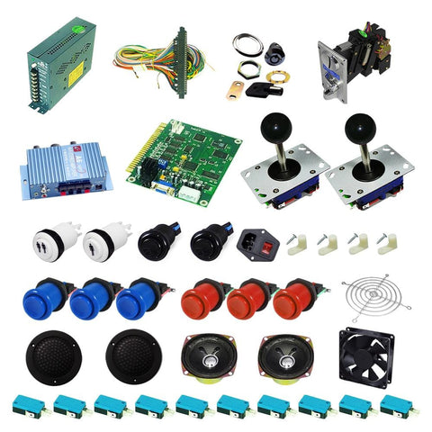 Ultimate 60 in 1 DIY Arcade Kit - DIY Arcade Australia