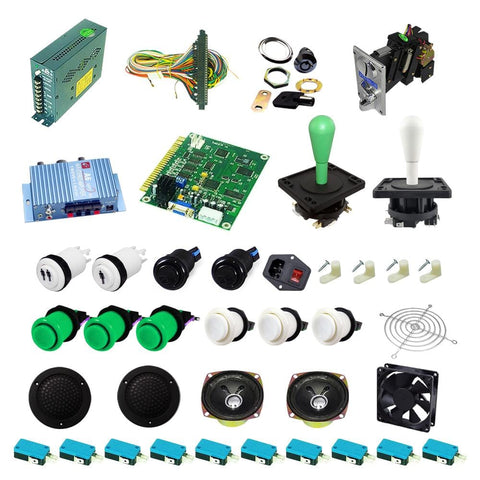 Ultimate 60 in 1 DIY Arcade Kit-Happ Joystick - DIY Arcade Australia