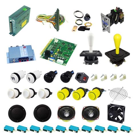 Ultimate 60 in 1 DIY Arcade Kit-Happ Joystick