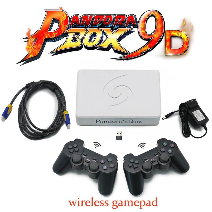 Wireless Pandoras Box 9D 2500 in 1 Kit - DIY Arcade Australia