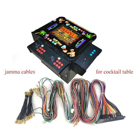 3 Side Cocktail JAMMA Harness - DIY Arcade Australia