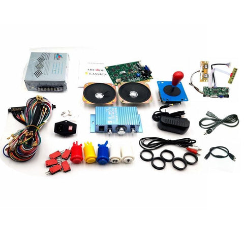 60 in 1 Conversion Kit For Arcade1Up Vertical Machines with LCD parts