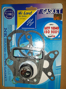"Top end gasket set - Honda C70/C90 12v models ""paper head gasket"""
