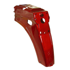 Rear Mudguard to suit Honda C50/70/90  12v Square Headlight Models - Red