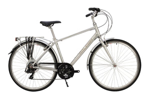 Gents Hybrid Bike Raleigh Pioneer Tour Crossbar