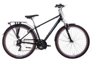 Gents Hybrid Bike Raleigh Pioneer Trail Crossbar (Gents)