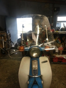 Windshield to suit Honda C50/70/90  Round Headlight Models