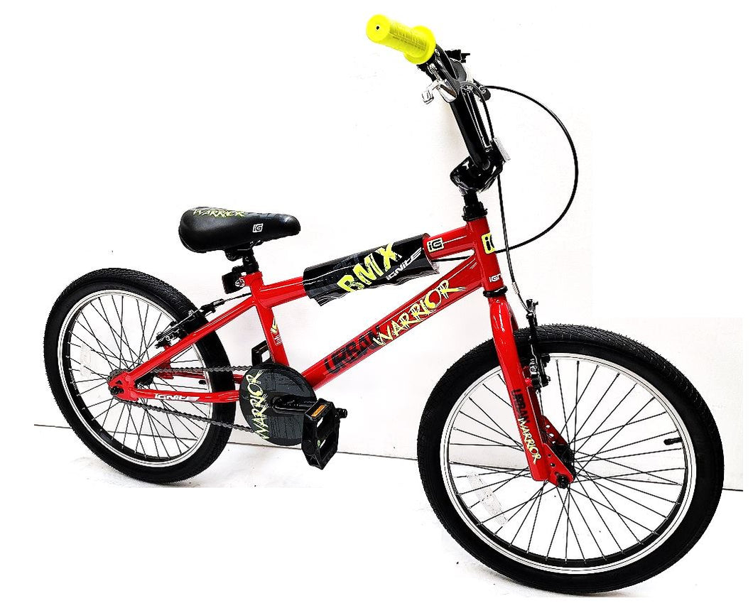 "Kids Bike  20"" Ignite Warrior BMX - Red"