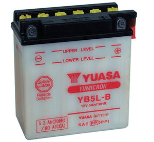 Battery 12v Honda C50/70/90 Cub  YB5L-B  Yuasa  E-Start Models