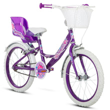 "Load image into Gallery viewer, Kids Bike 18"" Bumper Sparkle - Purple"