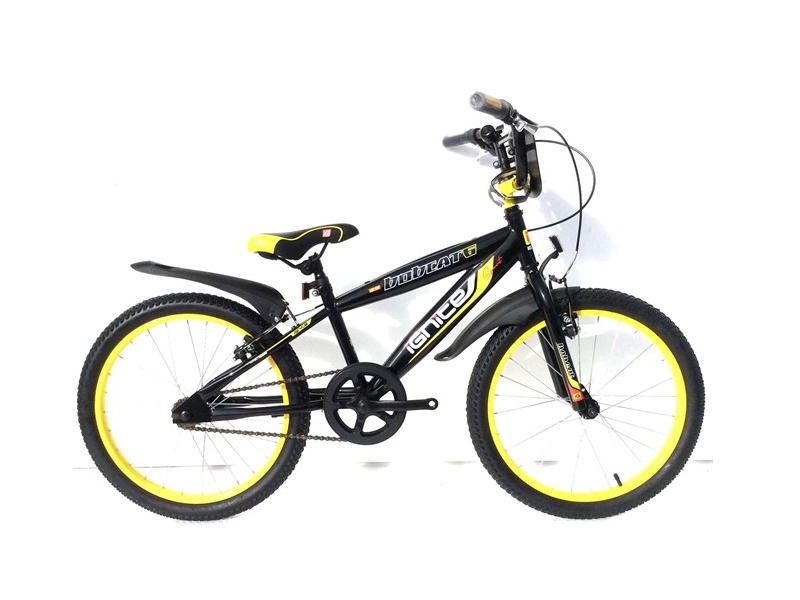 "Kids Bike 20"" Ignite Bobcat - Black/Green"