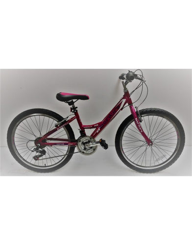 "Kids Bike 24"" Bentini Montare (Alloy Frame) - Pink"