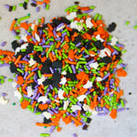 Unbaked's Custom Halloween Sprinkles Mix
