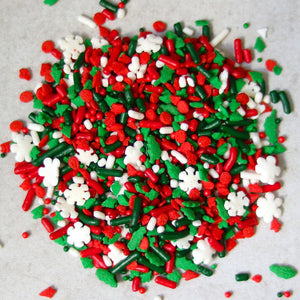 Unbaked's Christmas Sprinkles Mix