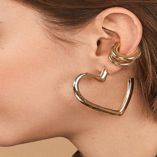 Punk Gold Ear Cuff