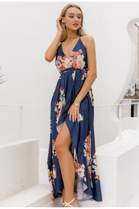 Flora Backless Women Long Dress