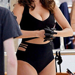 Elizabeth High Waist Plus Size Swimsuit
