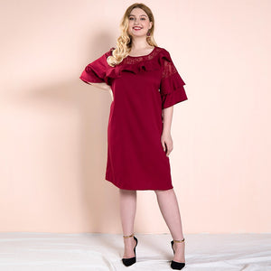 Fearless Girl Mia Fall A-Line Smooth Dress
