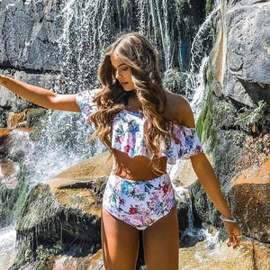 Fearless Girl Ivy High Waist Swimwear