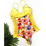 Layla One Piece Push Up Swimwear
