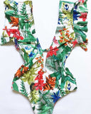 Wendy Off Shoulder Ruffle Swimwear