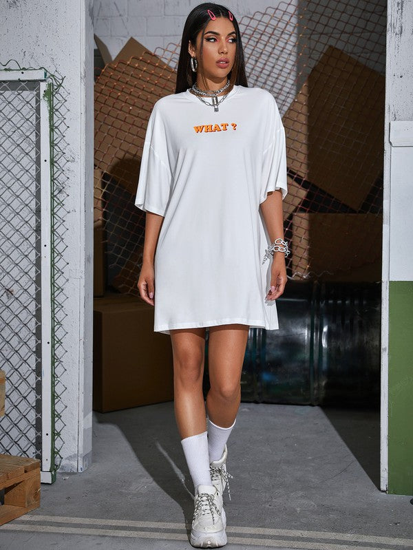 What tee shirt dress