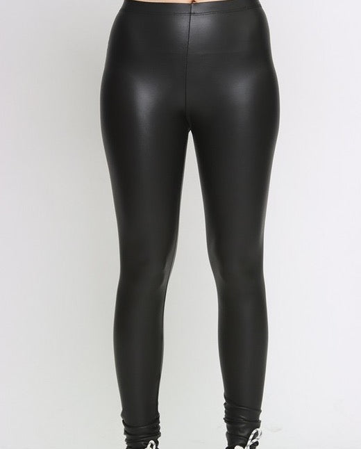 Keisha leather bottoms