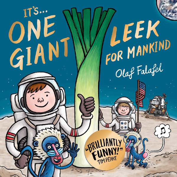 It's One Giant Leek by Olaf Falafel Cover Tim Peake