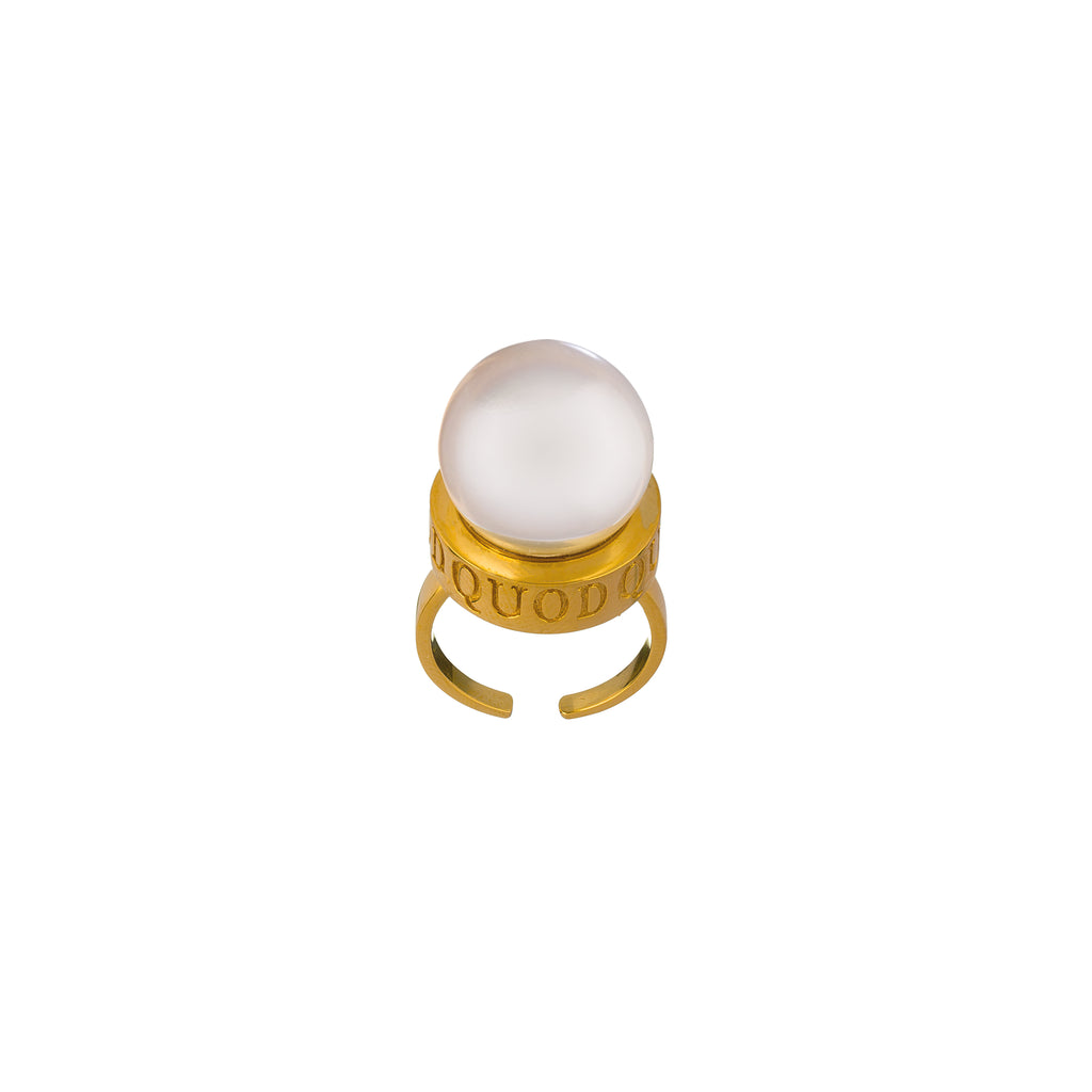 QUOD Pearl Jelly Ring