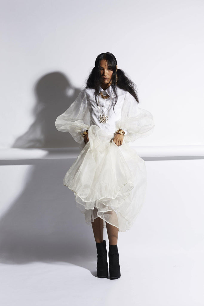 Organza Parachute Dress